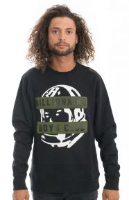 Billionaire Boys Club Clothing, BB Badge Crewneck - Black