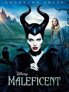 """The new posters feature Angelina Jolie (Maleficent), Elle Fanning (Princess Aurora), Sharlto Copley (Stefan), and Sam Riley (Diaval). """"Maleficent"""" is the untold story of Disney's most iconic villain from the […] Maleficent 2014, Angelina Jolie Maleficent, Maleficent Movie, Maleficent Drawing, Maleficent Cosplay, Maleficent Horns, Movies 2014, Disney Films, Movie Posters"""