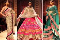 Colors and forms.Manish Malhotra