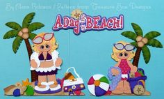 a day at the beach By Alene Robison