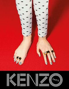 The New Issue of Printed Pages Showcases Art from Kenzo Campaigns' #photography trendhunter.com