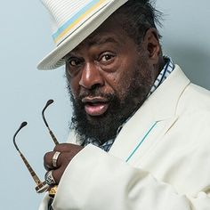 George Clinton (born July 22, 1941) is an American singer, songwriter, bandleader, and music producer. He was the principal architect of P-Funk, the mastermind of the bands Parliament and Funkadelic during the 1970s and early 1980s, and launched a solo career in 1981. He has been cited as one of the foremost innovators of funk music, along with James Brown and Sly Stone.