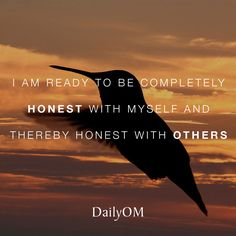 #DailyOM #quotes #affirmations #honesty