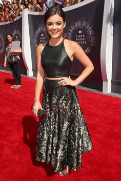 Lucy Hale [Photo by Larry Busacca/Getty Images for MTV]