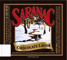 New York Giants Super Bowl Beer - Saranac Chocolate Lager
