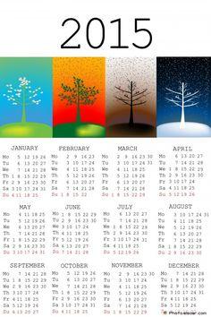 2015 Calendar Designs, With 25 Good Ideas | Amazing Photos