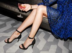Chic shoes are a girl's best friend. #TreatYourself