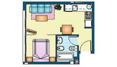 estudio 33 m2