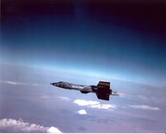 On 3 October 1967, Pete Knight flew an X-15 at a speed of 4,519 mph, still the record for a winged powered aircraft.