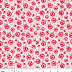 Hey, I found this really awesome Etsy listing at https://www.etsy.com/listing/169284404/lovey-roses-red-half-yard-cut-riley