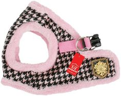 Puppia Authentic Downtown Harness B, Large, Pink by Puppia, http://www.amazon.com/dp/B004IPYRNE/ref=cm_sw_r_pi_dp_kskRqb12GW3RQ
