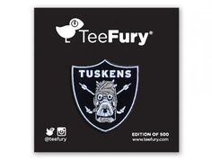 TUSKEN RAIDERS Pin • Limited to 500 • Only $7 • Exclusive to TeeFury • http://www.teefury.com/tusken-pride-pin