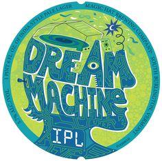 Magic Hat Brewing Dream Machine IPL