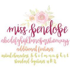 Silhouette Design Store: Miss Penelope Font Hand Lettering Alphabet, Graffiti Alphabet, Alphabet Art, Handwritten Script Font, Calligraphy Fonts, Calligraphy Alphabet, Islamic Calligraphy, Doodle Fonts, Doodle Art