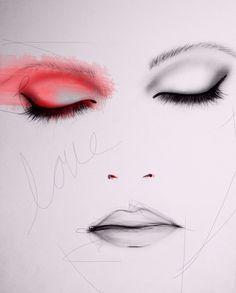 Scarlet Art Print by LeighViner on Etsy, $28.00