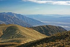 Photograph by Stuart Litoff.  This picture shows a vista from Dante's View in Death Valley National Park, California.