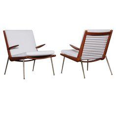 Pair of Armchairs by Peter Hvidt c1950's