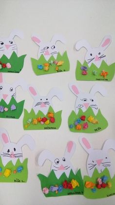 Easter Art, Easter Crafts, Easter Bunny, Christmas Crafts, Abc Crafts, Toddler Crafts, Diy And Crafts, Easter Projects, Art Projects