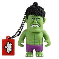 Chollo Amazon España: Memoria USB de 8GB Tribe Hulk de Marvel por solo 8,95€ (un 55% de descuento del precio de venta recomendado y precio mínimo histórico)