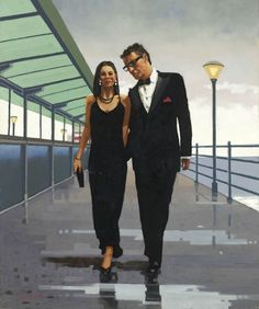 Jack Vettriano - The Morning After