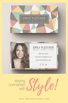 Photo business card designs aka calling cards for actors singers photo business card designs aka calling cards for actors singers models and reheart Images