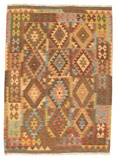 Kelim Afghan Old style matta NAU719
