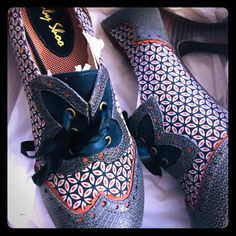 656569af ruby shoo Shoes | Size 10 Ruby Shoo | Color: Blue/Black | Size