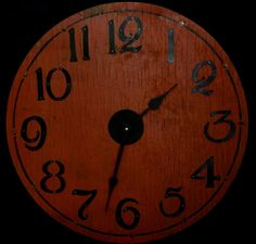 22 RUSTIC WALL CLOCK from Red Barnwood with by ClocksByHomestead, $89.