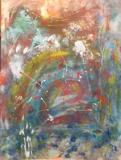 Original abstract art 2000-Now,acrylic Patricia Askew-artist, medium #Abstract