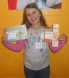 Brooklyn is our Kid of the Day! We love having her smiling face at the Club!