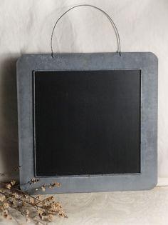 """Chalkboard 14"""" Square Zinc Boards $12.99 each/ 3 for $10 each"""