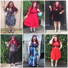 My Month in Outfis: What I Wore in September   September was a bit all over the map weather wise. We had some scorchers and a fair bit of rain too. And with Curve Fashion Festival a wedding and the Evans #IamMe awards I had a few different occasions to dress up for so here's what I wore in September...   Carmel festival tassel shift dress - Boohoo Plus  Multicoloured raffia block heels - Debenhams (last season)  I feel like I have just discovered Boohoo Plus. I know it's been there for a…