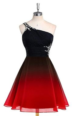 Bealegantom 2019 Gradient Chiffon Short Prom Dresses Ombre Beads Evening Party Gowns Homecoming Graduation Dress Source by Linelion. Cute Prom Dresses, Dance Dresses, Elegant Dresses, Pretty Dresses, Homecoming Dresses, Beautiful Dresses, Formal Dresses, Chiffon Dresses, Sexy Dresses