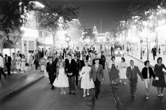 "Can you believe people got dressed up to go to Disneyland? This is so awesome. | Disneyland's ""Date Nite"" Of The '50s Will Make You Wish You Had A Time Machine"