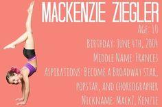 Mackenzie ;)same year was born as me