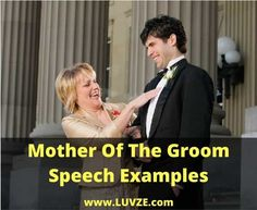 Check out our mother of the groom speech examples. These thoughtful speeches will help you craft your own unique speech that everyone enjoys.