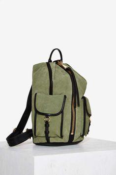 Aimee Kestenberg Tamitha Cargo Suede Backpack - Accessories | Bags + Backpacks | Good Sport