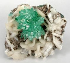 Apophyllite with Stilbite from India
