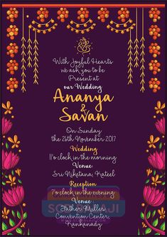 Quirky Indian Wedding Invitations - Mangalore Wedding Invitation Design and Illustration