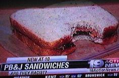 Racist sandwich?