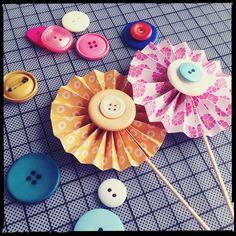 Muffin-Deko: Cake Wheels für farbenfrohe Feste - BRIGITTE.de