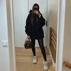 Uni Outfits, Trendy Fall Outfits, Winter Fashion Outfits, Fall Winter Outfits, Cute Casual Outfits, Everyday Outfits, Look Fashion, Mode Turban, Mode Inspiration