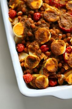 Portuguese Cooking - Bacalhau / Salted Cod Casserole | Squirrelly Minds