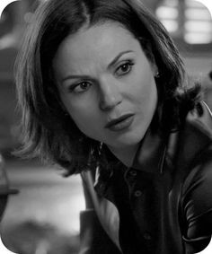 Awesome Regina (Lana) Once S2 black and white