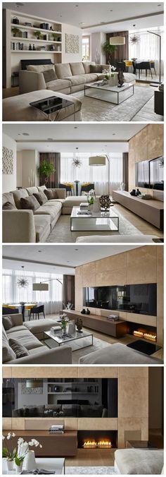 living area - Country House by Aleksandra Fedorova Bureau