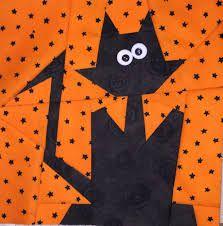 Resultado de imagen para halloween paper piecing patterns free