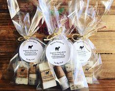 Organic Soap & Organic Lotion Bar in Organza Bag Ayurvedic Herbs, Wooden Tags, Natural Moisturizer, Organic Soap, Soap Packaging, Lotion Bars, Palm Oil, Organza Bags