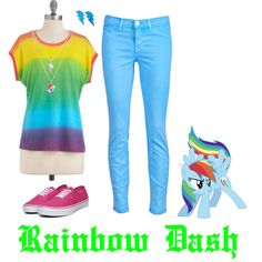 Rainbow Dash...omg I have to do this for linzi!!