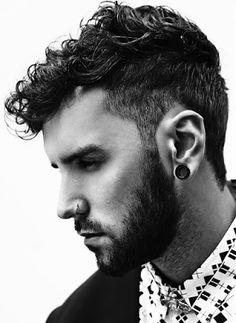 Cortes para cabello rizado hombres 2016