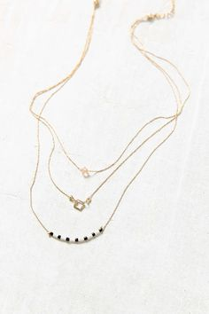 Easy Picnic Delicate Necklace - Urban Outfitters